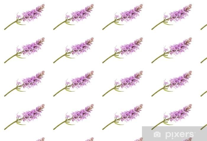 Wild orchid Vinyl custom-made wallpaper - Flowers