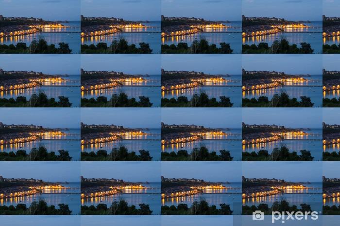 Özel Boyutlu Vinil Duvar Kağıdı Cancale Limanı - Altyapı