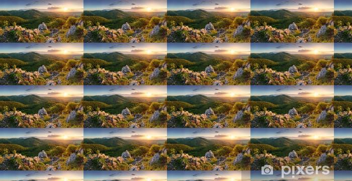 Tapeta na wymiar winylowa Szczyt w zachodzie słońca - Słowacja góry - Góry