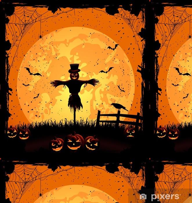 Vinylová Tapeta Halloween pozadí s Strašák - Mezinárodní svátky