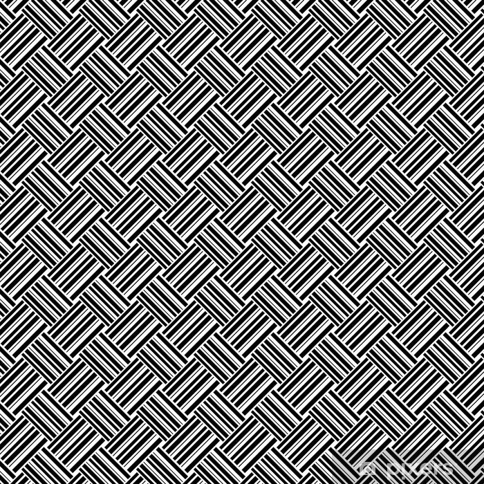 Tapeta na wymiar winylowa Bezszwowe wzór z paskami, ilustracji wektorowych - Tła