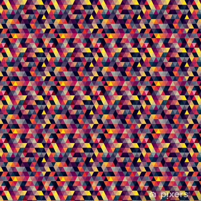 Tapeta na wymiar winylowa Bezszwowe tło trójkąt - Geometria