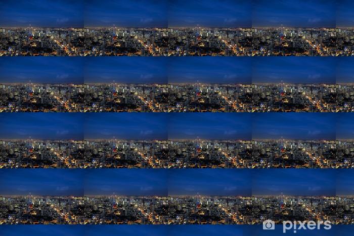Vinyltapete nach Maß Tokyo Skyline - Schwerindustrie