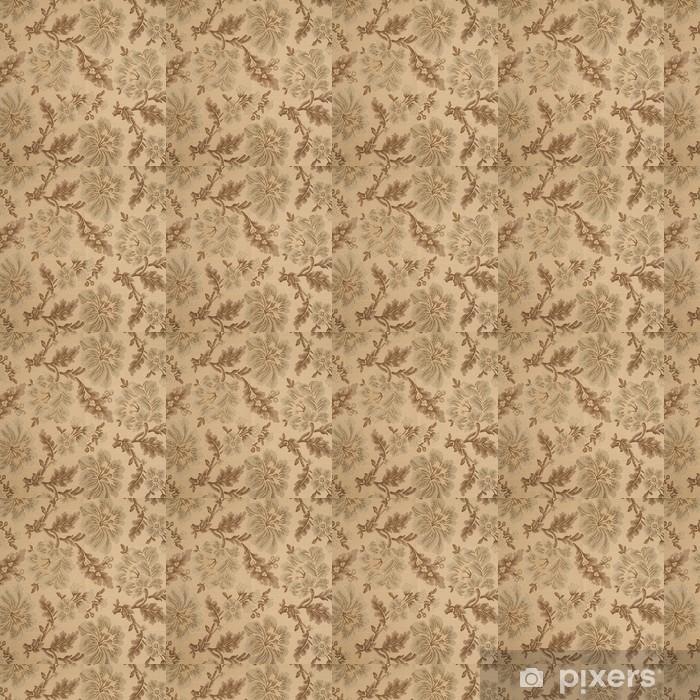 Papier peint vinyle sur mesure Fabric background avec motif floral - Fleurs