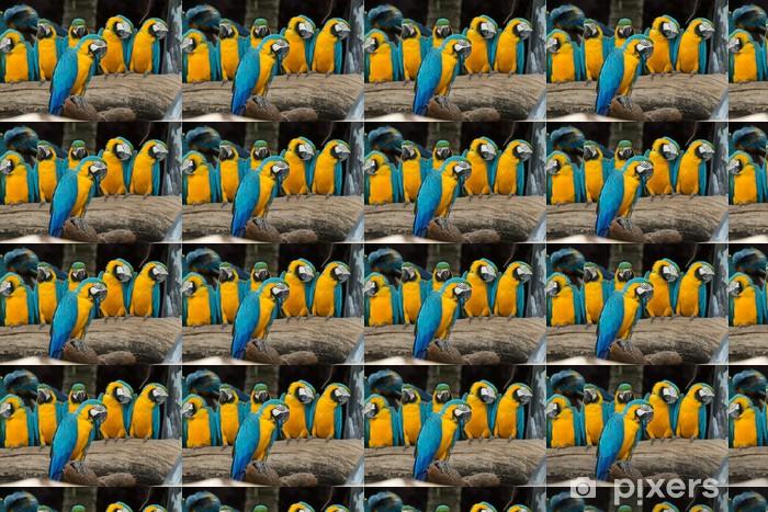 Måttanpassad vinyltapet Ara fågel - Teman