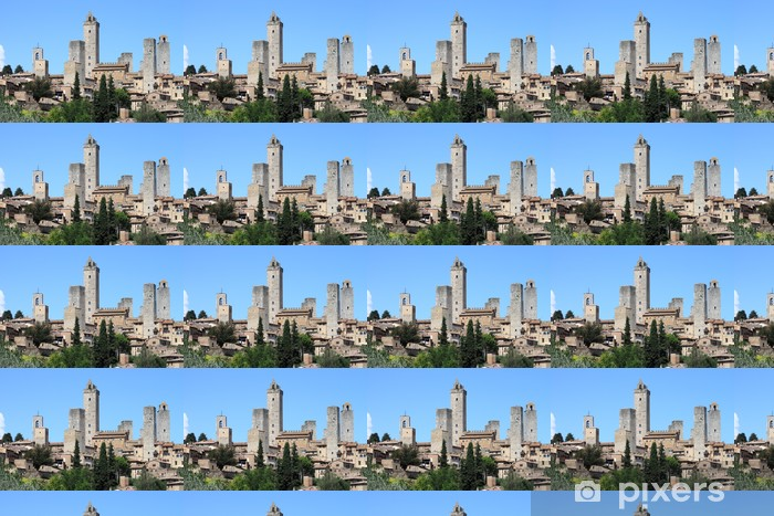 San Gimignano in Tuscany, Italy Vinyl Wallpaper - Europe