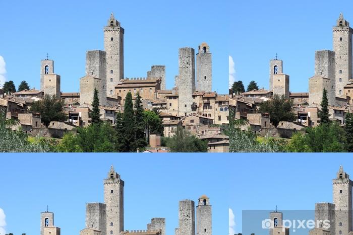 Vinylová Tapeta San Gimignano v Toskánsku, Itálie - Evropa