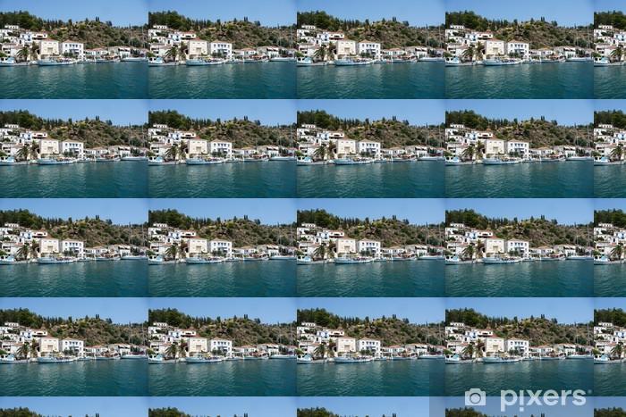 Vinylová tapeta na míru Poros Island - Řecko - Město