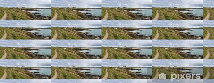 Newquay in Cornwall Vinyl custom-made wallpaper - Europe