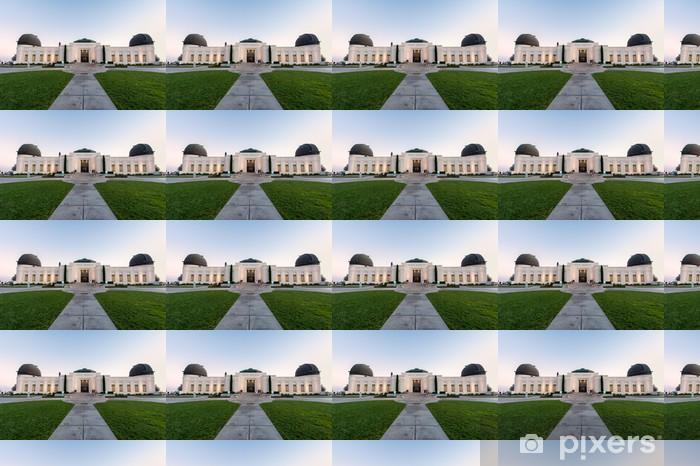 Tapeta na wymiar winylowa Griffith Observatory budynek w los angeles - Tematy