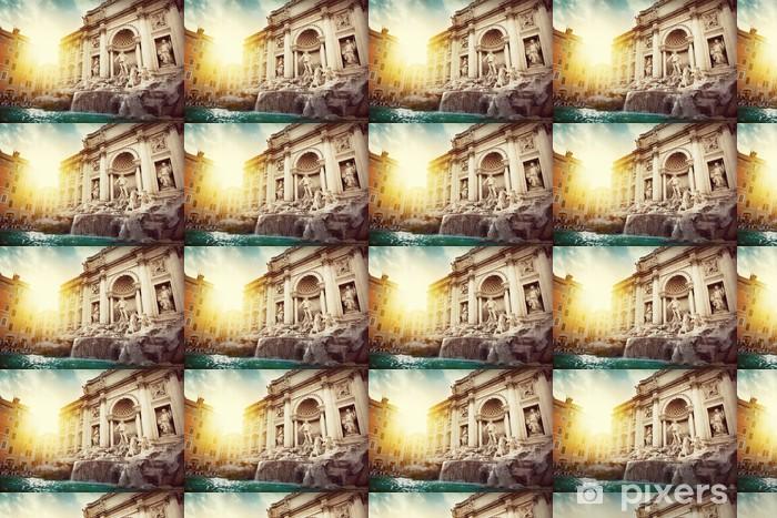 Papel pintado estándar a medida Trevi Fountain - Temas