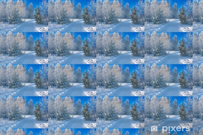 Papel pintado estándar a medida Paisaje de invierno - Estaciones