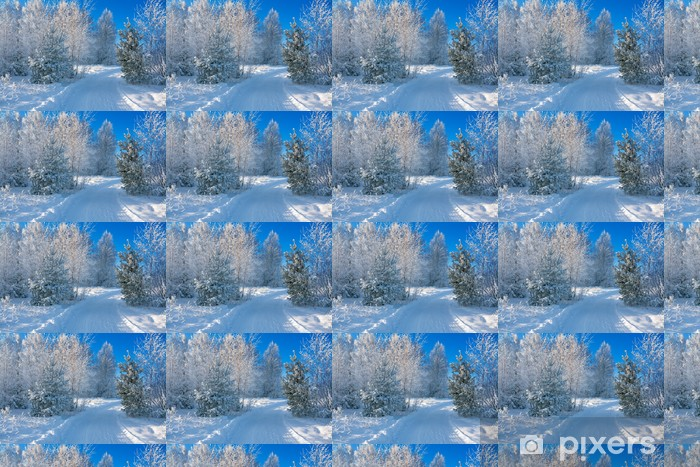 winter landscape Vinyl custom-made wallpaper - Seasons