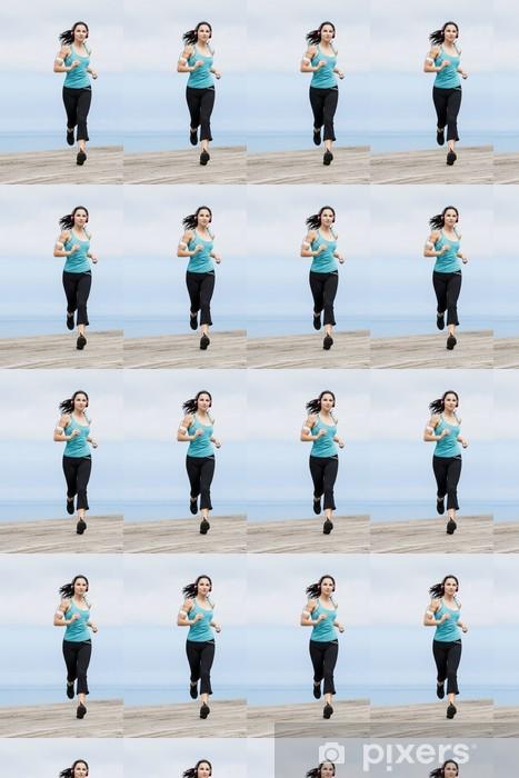 Papier peint vinyle sur mesure Jogging - Thèmes