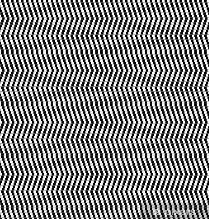 Optische Täuschung Wallpaper Vinyl Custom Made