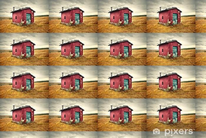 Vinylová tapeta na míru Malý dům - Zemědělství