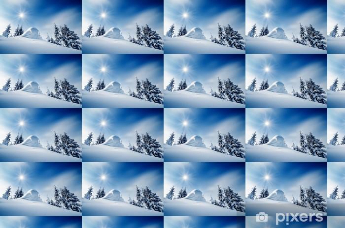 Tapeta na wymiar winylowa Zimowy krajobraz - Pory roku