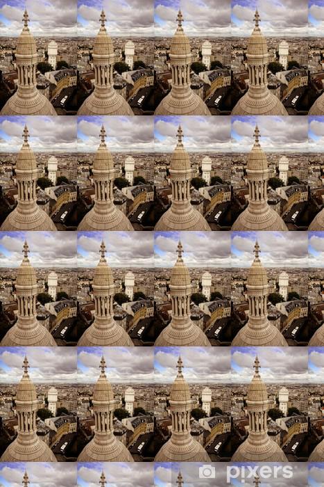 Sacré-Coeur Basilica Vinyl custom-made wallpaper - European Cities