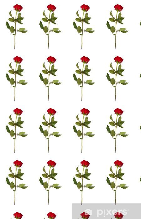 Tapeta na wymiar winylowa Jedna czerwona róża - Tematy