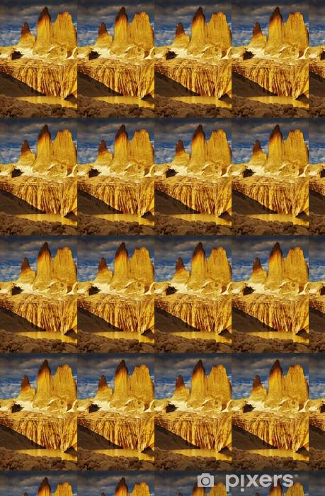 Vinylová tapeta na míru Torres del Paine při východu slunce - Amerika