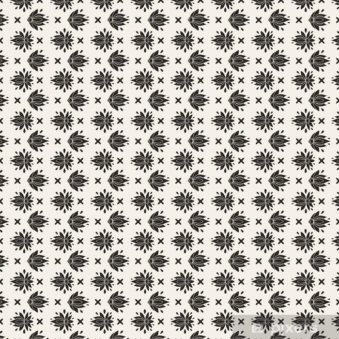 Papier peint vinyle sur mesure Floral seamless pattern - Arrière plans