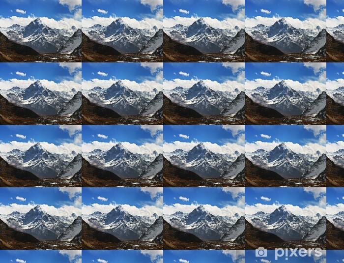 Tapeta na wymiar winylowa Ama Dablam szczyt - widok z Przełęcz La Cho, Nepalu - Tematy