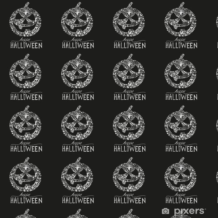 Tapeta na wymiar winylowa Szczęśliwego Halloween - Święta międzynarodowe