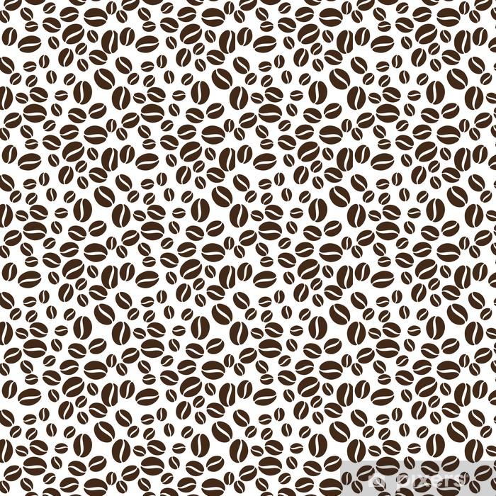 Vinyltapete nach Maß Kaffeebohnen-Muster - Hintergründe