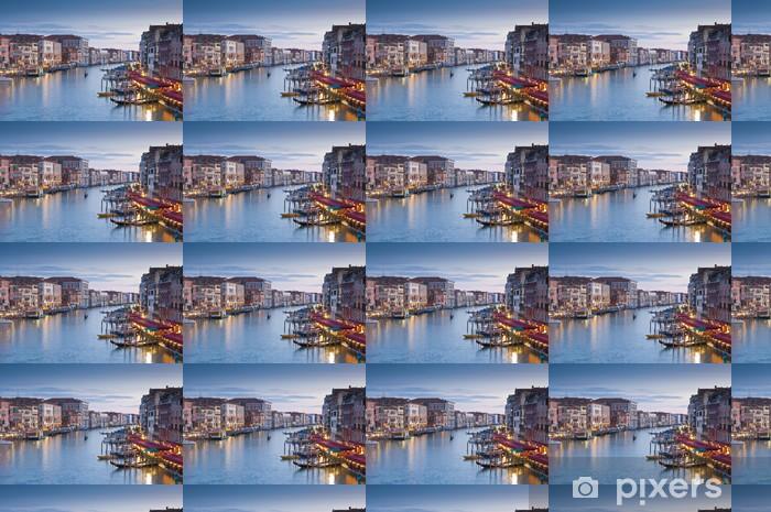 Tapeta na wymiar winylowa Grand Canal, domy i gondole, Wenecja - Tematy