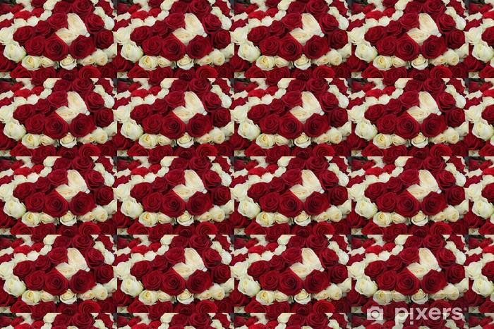 Tapeta na wymiar winylowa Centralnym ślub w czerwone i białe - Świętowanie