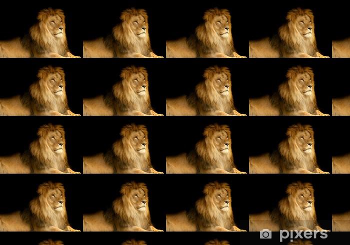 84e189625a3b3 Papier peint à motifs Lion • Pixers® - Nous vivons pour changer