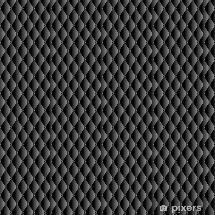 Vinylová tapeta na míru Vektorové černé kožené čalounění pozadí - Pozadí