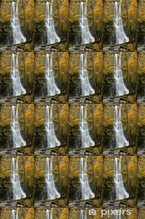 Vinylová tapeta na míru Vilagocende vodopád, Fonsagrada, Galicia, Španělsko - Voda