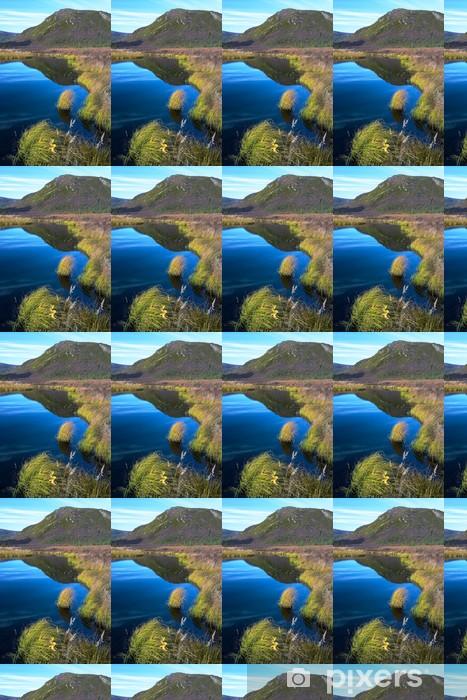Tapeta na wymiar winylowa Ciekawe, ze wzgórza jezioro - Ameryka