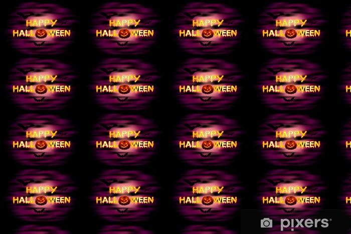 Papier peint vinyle sur mesure Happy Halloween - Fêtes internationales