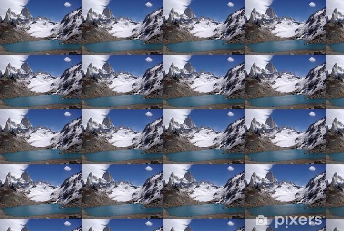 Papier peint vinyle sur mesure Mont Fitz Roy, Argentine - Amérique