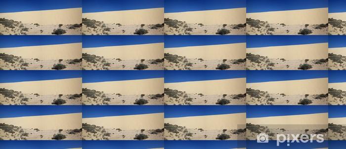 Papier peint vinyle sur mesure Dunes de Fuerteventura - Vacances
