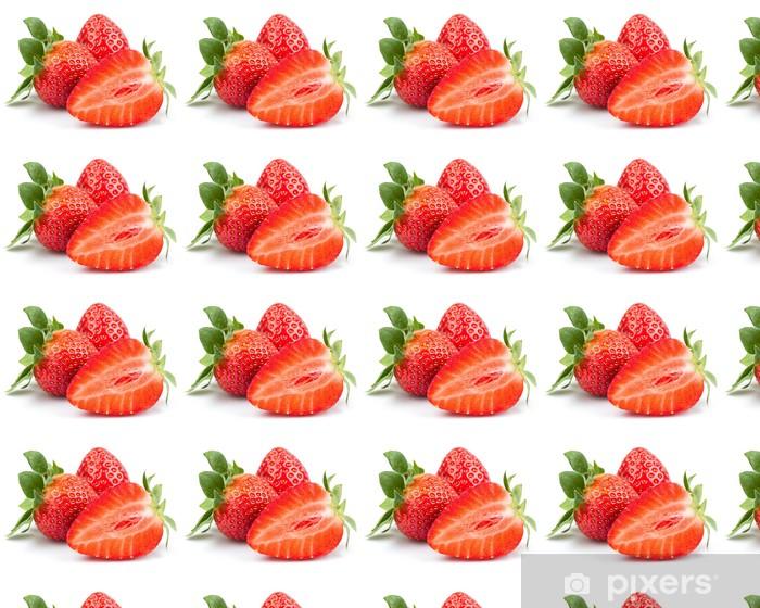 Vinyltapete nach Maß Erdbeere - Früchte