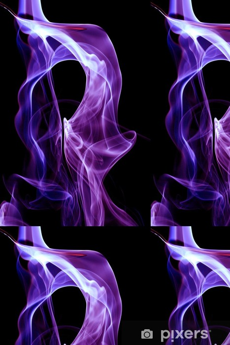 Vinylová Tapeta Purple kouř - Témata