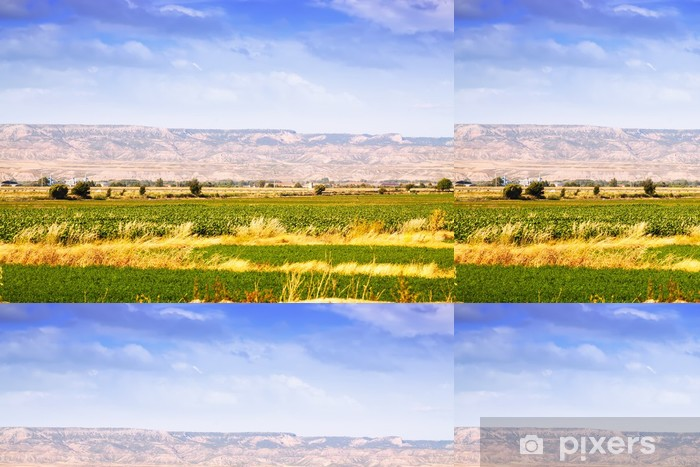Vinil Duvar Kağıdı Aragon kırsal manzara - Ziraat