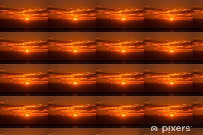 Tapeta na wymiar winylowa Zachód słońca, niebo, pomarańczowe tło na wieczór - Niebo