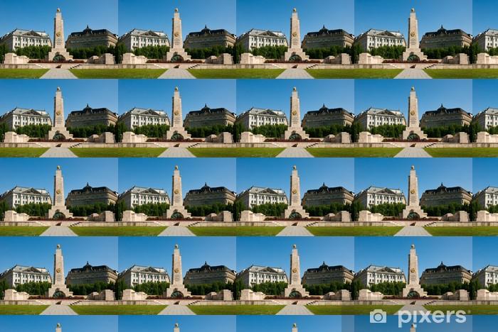 Tapeta na wymiar winylowa Budapeszt, pomnik żołnierzy radzieckich - Europa