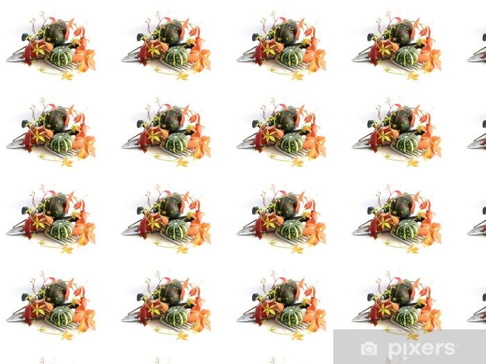 Papier peint vinyle sur mesure Citrouille - Repas