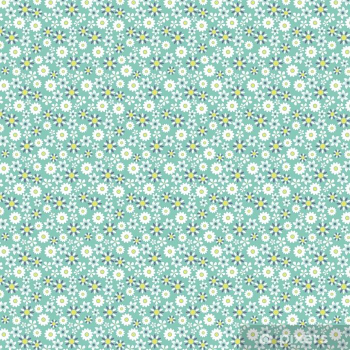 Carta da parati in vinile su misura Seamless pattern sfondo floreale - Arte e Creazione