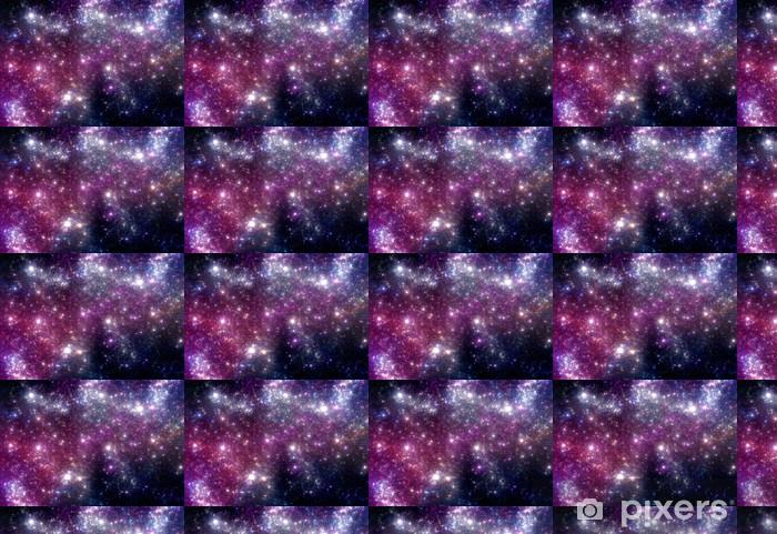 Vinylová tapeta na míru Stars pozadí. Purple galaxie. - Vesmír