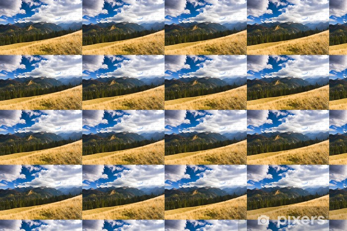 Tapeta na wymiar winylowa Górski krajobraz niesamowitość, Tatry, Polska - Tematy