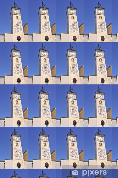 Tapeta na wymiar winylowa Kościół w Sisteron - Budynki użyteczności publicznej