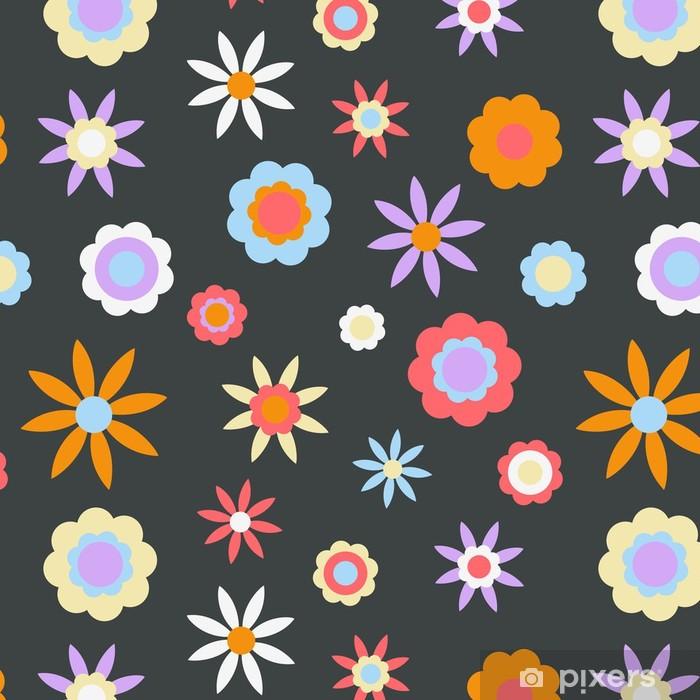 Tapete Dunkle Retro Blumen Hintergrund Pixers Wir Leben Um Zu