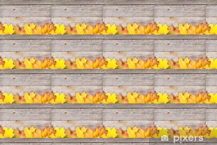 Papel pintado estándar a medida Coloridas hojas de arce del otoño - Temas