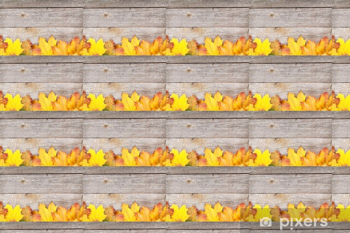 Colorful autumn maple leaves Vinyl custom-made wallpaper - Themes